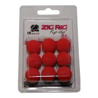 LK Baits ZIG RIG Pop–Up 18 mm –  Red